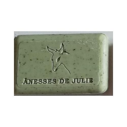 Savon de Provence gommant à la VERVEINE & au Lait d'ânesse frais BIO de Bourgogne 100 G