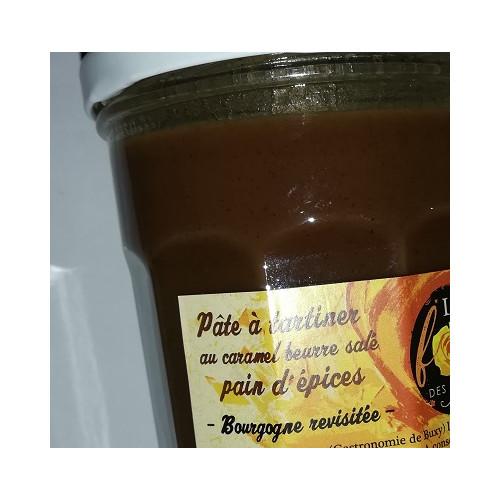 Pâte à tartiner au Caramel Beurre salé 300 g - PAIN D'EPICES
