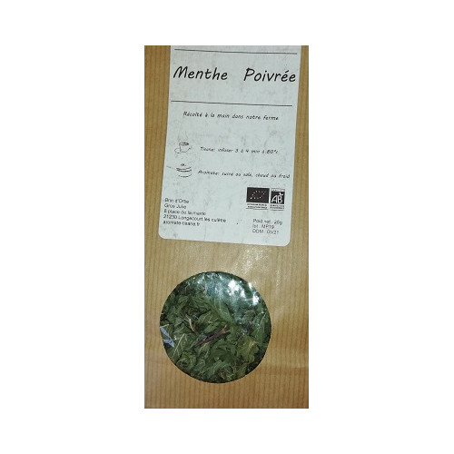 Plante séchée - MENTHE POIVREE 30 g