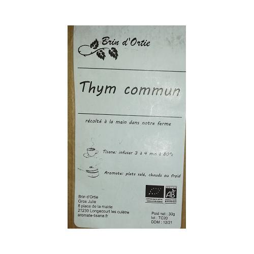 Plante séchée - THYM Commun 30 g