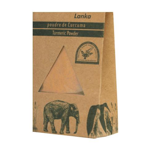 EPICES cueillette sauvage - SRI LANKA - Curcuma en poudre 50 g