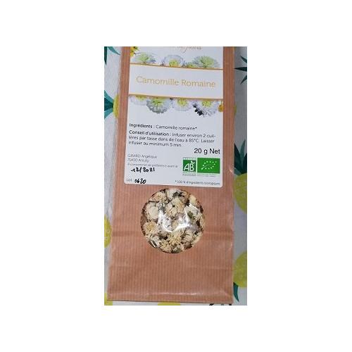 Plante séchée - CAMOMILLE ROMAINE 20 g