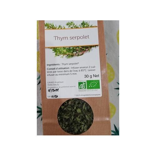 Plante séchée - THYM Serpollet 30 g