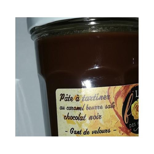 Pâte à tartiner au Caramel Beurre salé 300 g - CHOCOLAT NOIR