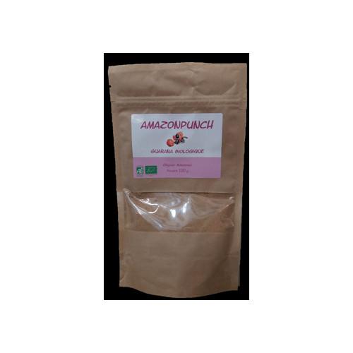 Amazon Punch GUARANA d'Amazonie BIO en poudre 100 g(Paullinia cupana Sorbiis.)