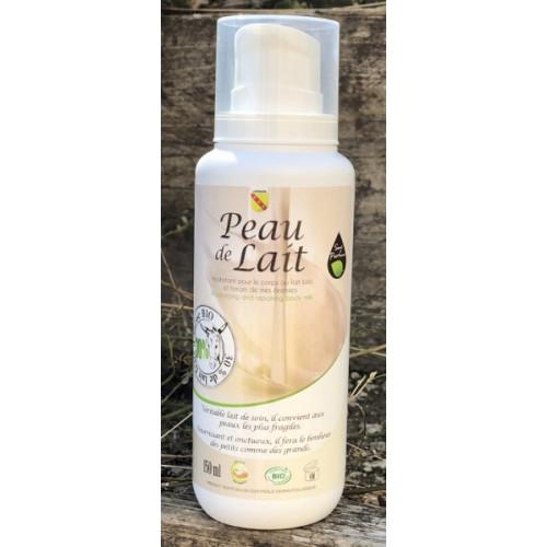 Lait corps 30 % lait d'ânesse PEAU DE LAIT 150 ml