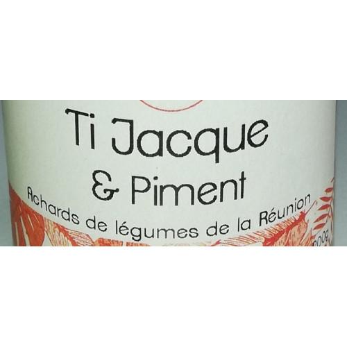 ACHARDS Ti Jacques et Piment de la Réunion 200 g Cuisine réunionnaise de la Réunion 100 g