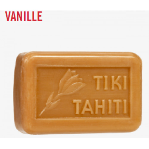 Savon surgras au MONOI parfumé VANILLE Tiki Tahiti 130 g