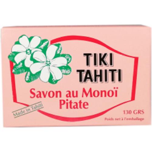 Savon surgras au MONOI parfumé Jasmin Tiki Tahiti 130 g