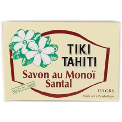 Savon surgras au MONOI parfumé Santal Tiki Tahiti 130 g