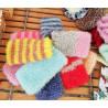 Gant nettoyant en crochet