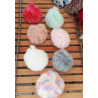 TAWASHI Couleur UNIE en crochet - Corps, Vaisselle ou nettoyer les petites surfaces sans rayer
