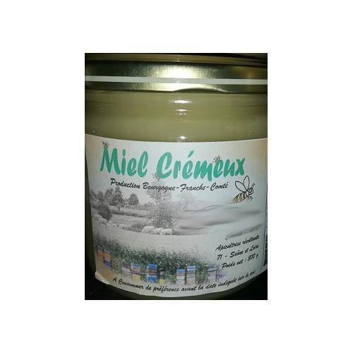 Miel de petit producteur - TOUTES FLEURS CREMEUX - Pot en verre 500 g