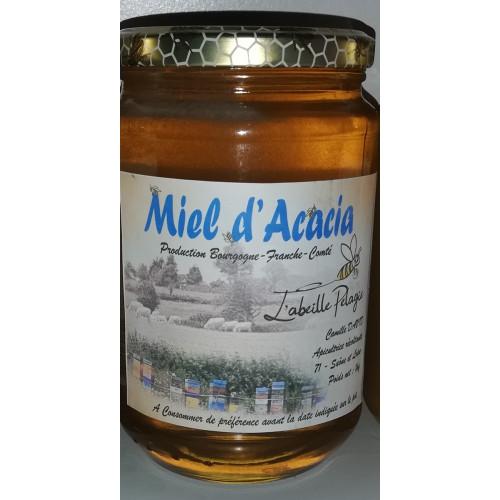 Miel de petit producteur - ACACIAS - Pot en verre 1kg