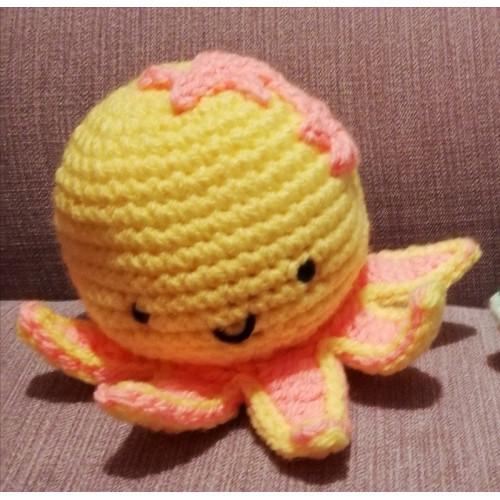 Doudou en crochet - Forme PIEUVRE Petit format
