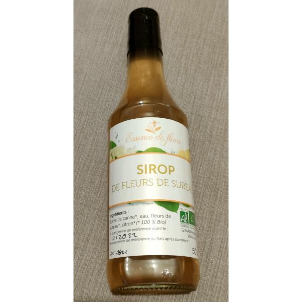 SIROP DE PLANTES BIO - Menthe verte - flacon 50 cl
