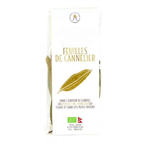 Epices - Feuilles de Cannelier du Népal – bio - Sachet 15 g - Cinnamomum tamala