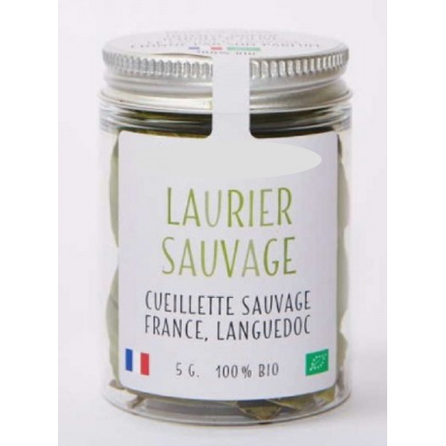 Epices - Feuilles entières de LAURIER du Languedoc – bio et sauvage - Laurus nobilis